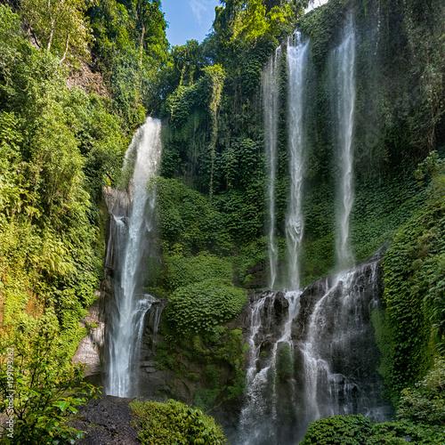 Keuken foto achterwand Bali Lemukih waterfall on Bali