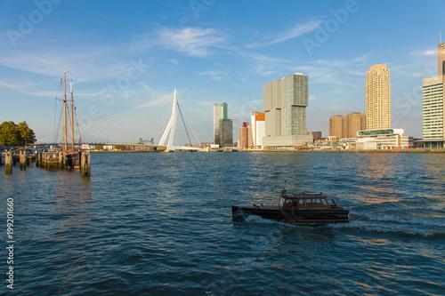 Keuken foto achterwand Rotterdam Balade le long de la Nouvelle Meuse - rotterdam - Paybas