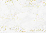 Marble with golden texture background vector illustration for modern design template wedding or invitation, web, banner, card, pattern and wallpaper.  - 199232253