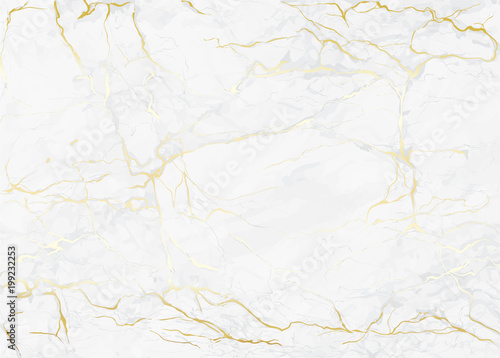 mata magnetyczna Marble with golden texture background vector illustration for modern design template wedding or invitation, web, banner, card, pattern and wallpaper.