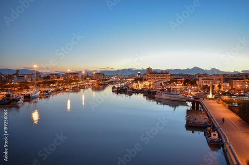 Beautiful View from Pescara Bridge - 199256064
