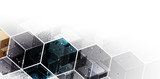 Digital technology world. Business virtual concept. Vector background - 199274227