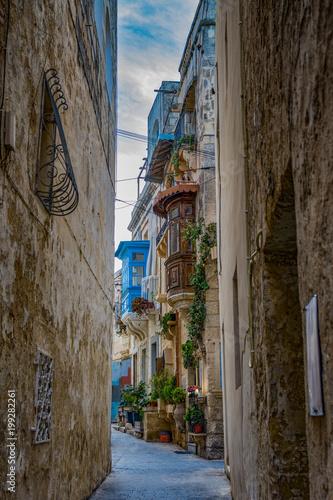 Plexiglas Smalle straatjes VICOLI DI MALTA