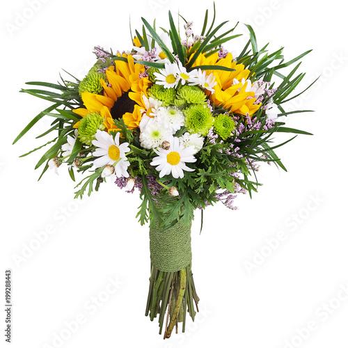 fototapeta na ścianę Bouquet with sunflowers