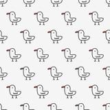 seamless chicken pattern - 199313421