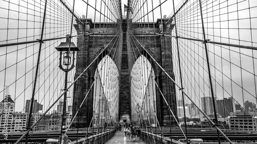 Foto op Plexiglas Brooklyn Bridge Brooklyn Bridge