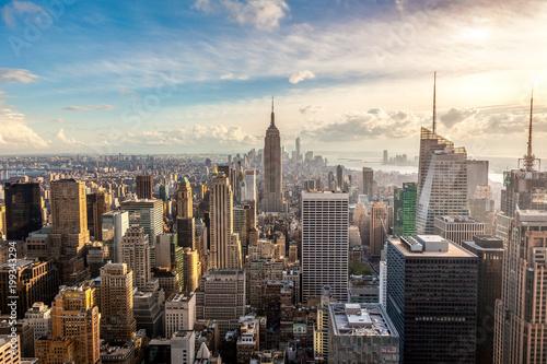 Keuken foto achterwand New York New York City skyline