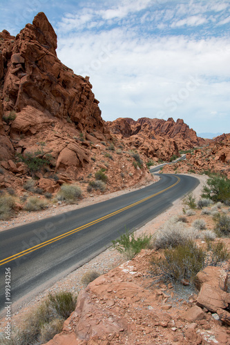Valley of fire state park nevada Poster