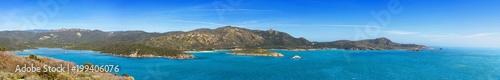 Fotobehang Panoramafoto s Tuerredda, Sardegna