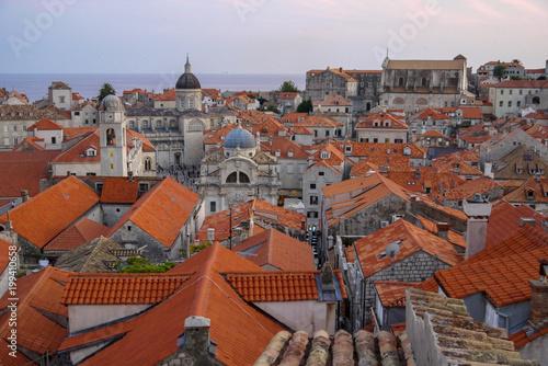 Poster Praag Dubrovnik, Croatia.