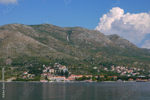 Plexiglas Grijs Adriatic Coast, Croatia.