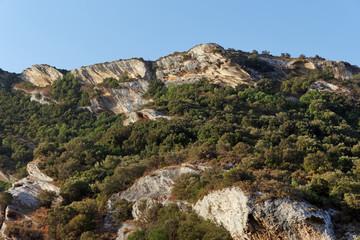 Patrimonio hills in Corsica