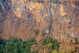 Detail of cliff in Kushma, Nepal