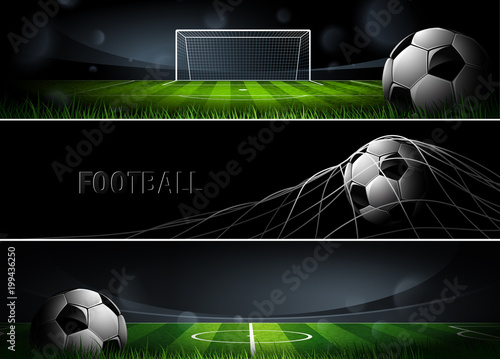 Sports Banners. Vector
