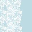 Seamless lace border. Invitation card. - 199439439