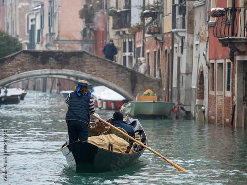Fotobehang Venetie ヴェネチアの日常