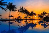 Sunrise at the beach in Hoi An