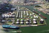 petrochemical industry storage terminal port