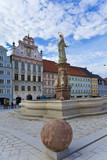 Landsberg-Lech, Historische Altstadt mit Rathaus