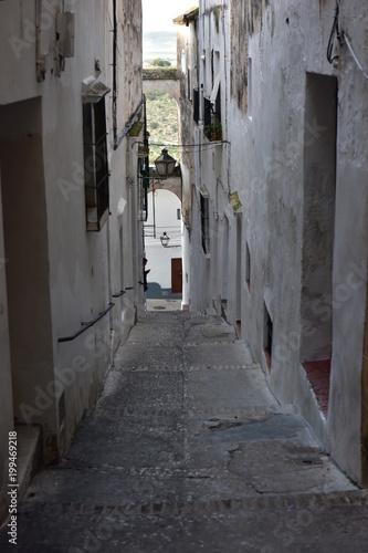 Plexiglas Smalle straatjes Arcos de la Frontera, Cádiz