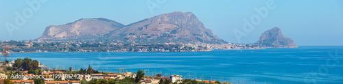 In de dag Palermo Capo Zafferano, Palermo, Sicily, Italy