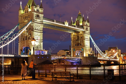 Fotobehang Londen london tower bridge