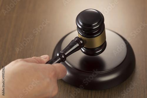 裁判イメージ オークションハンマー