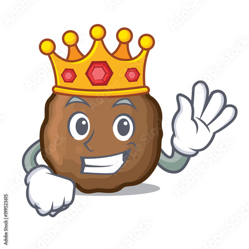 King Meatball Mascot Cartoon Style Buy Photos Ap Images Detailview