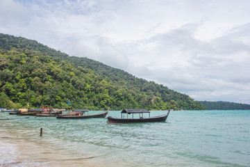Moken Village at Surin Islands, an archipelago of five islands of the Andaman Sea: one of the most famous dive sites in the world