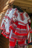 Traditional Romanian folk costumes for little girls - 199543482
