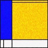 Mondrian Inspired Digital Painting 04