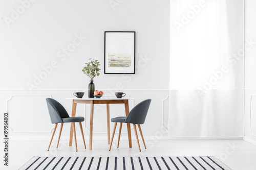 Dining Furniture In Minimalist Interior