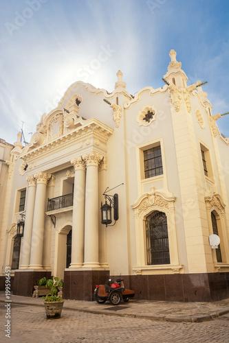 Foto op Canvas Havana Church in the center of old Havana in Cuba
