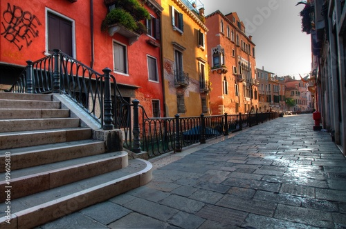 Plexiglas Smalle straatjes Views of Venice