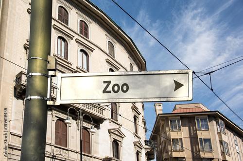 Schild 242 - Zoo