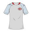England national tshirt soccer sport wear vector illustration graphic design