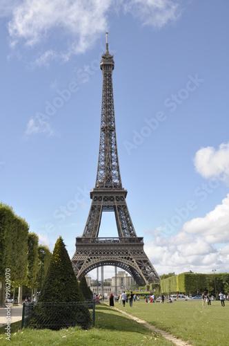 Fotobehang Eiffeltoren Paris, Eifelturm, Frankreich