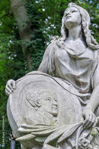 Foto Murales Lychakiv Cemetery - Lviv, Ukraine