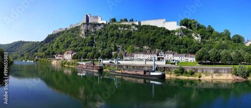 La citadelle de Besançon et le doubs - 199655883