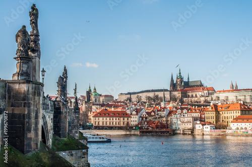 Poster Praag Prag - Altstadt // Prague - Old Town