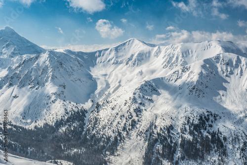 In de dag Blauwe jeans Kasprowy wierch High Tatras