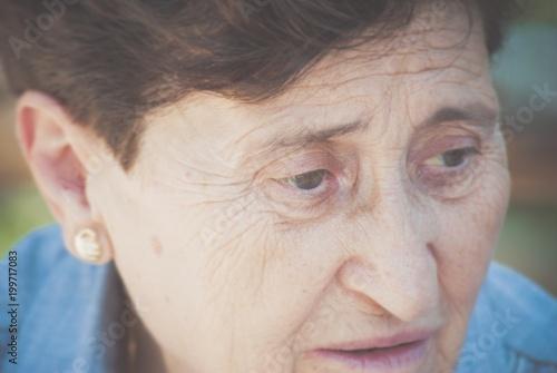 Zdjęcia na płótnie, fototapety, obrazy : Signora anziana ritratto