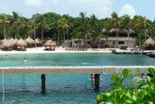 Keuken foto achterwand Tropical strand Great Mexico