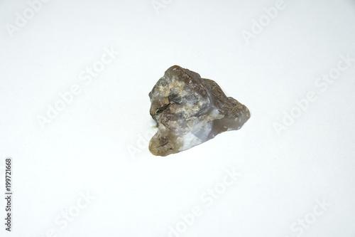 agat mineral wyizolowanych na białym tle