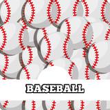 baseball balls sport background design vector illustration