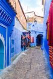 Street in blue