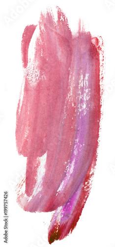 czerwony-fioletowy-plama-akwarela-pojedynczo-na-bialym-tle