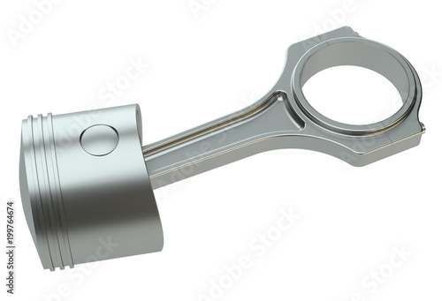 Piston with connecting rod - 199764674