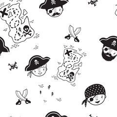 Pattern for kids, girls and boys. Vector illustration. It can be used to create prints, packaging, invitations, simple designs, gift wraps, festive decor, clothes, bags, pillows, postcards, cups
