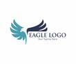 Eagle Bird Logo Vector Template. Business Logo Concept